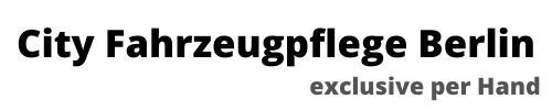 City Fahrzeugpflege Berlin